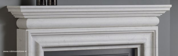 Traditional Bolection in Carrara- top