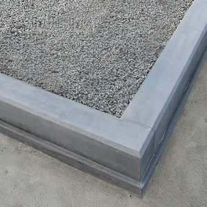 Chamfered Kerb no posts